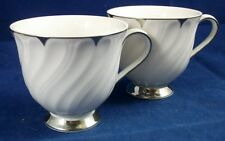 Harmony House HEIRLOOM 2 Cups (no saucers) GREAT Trim 3512 GREAT CONDITION
