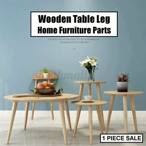 25/40/60cm Wooden Table Leg Tapered Chair Stool Sofa Home Furniture AU1