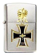 Zippo Feuerzeug Eisernes Kreuz 1939 Bicolor Diamantgravur