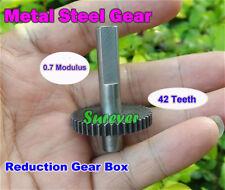 Metal Steel Gear Main Gear Wheel 0.7 Modulus 42 Teeth Motor Transmission Gear