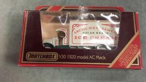 CAMION DE LIVRAISON Y30 1920 MODEL AC MACK MATCHBOX