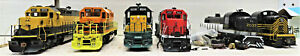 ATHEARN READY TO ROLL DIESEL LOCOMOTIVES (PARTS ONLY) HO SCALE 6 LOT