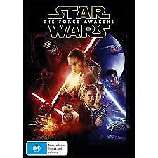 STAR WARS: THE FORCE AWAKENS DVD - NEW & SEALED SKYWALKER, VADER FREE POST