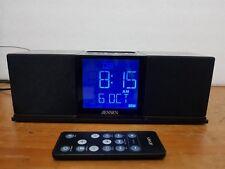 Jensen Jims-130i Mini Speaker, Radio & Alarm Clock with iPod docking