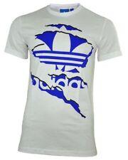 Camisetas de hombre blancas 100% algodón talla XS