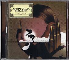 Apoptygma Berzerk: SONIC DIARY (2CD, limited Edition 2006) GUN 251 - NEU!