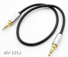 "1ft Premium 3.5mm (1/8"") Stereo Male to Male Audio Cable, CablesOnline AV-101J"