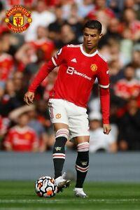 Manchester United Cristiano Ronaldo CR7 Poster 24X36 inches