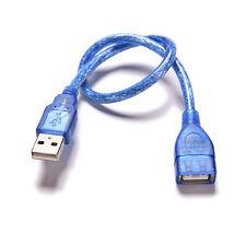 Transparent Rechten Winkel USB 2,0 A Stecker- Buchse Daten Verlängerungskabel FL