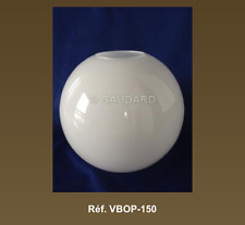 Glass Globe Opal White 150mm * Buy 3 Get 1 Free! * Verre boule – Made in France