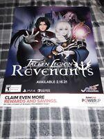Fallen Legion Revenants Gamestop Exclusive Promo Poster