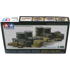 Tamiya Jerry Can & Fuel Drum Model Kit - Scale 1:48 - 32510