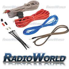 850 W COMPLETO 10 AWG Calibro AUTO AMPLIFICATORE AMP Cavo Sub Subwoofer Kit di cablaggio