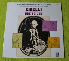 """Civelli / Ode To Joy / 1974 Peters International Records 12""""LP"""