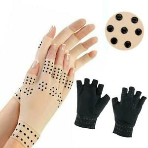 Anti-Arthritis Hand Support Magnetic Gloves Finger Joint Compression Pain Relief
