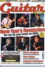 Steve Cropper/Phil Collen/Captain Beefheart GUITAR MAGAZINE GENNAIO 2006