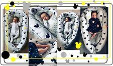 Bettausstattung 82 Babynest Babybett Babynestchen Reisebett Decke Kopfkissen 6 In1 Sweet Angel