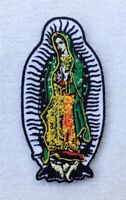 Our Lady of Guadalupe Patches Virgin Mary Embroidered Iron On / Sew On Patch
