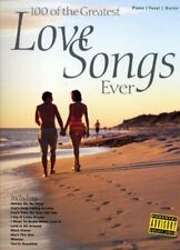100 of the Greatest Love Songs Ever: for Piano, Voice and Gu... by N/a Paperback