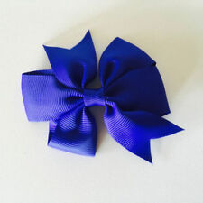 Kids' Clothes, Shoes & Accs. Symbol Of The Brand Handmade 4 Inch Hair Clip Bow Blue Red Green Stripes Hair Accessories