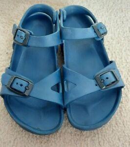 Childrens Birkenstock sandals  Size29/ Uk11- navy blue