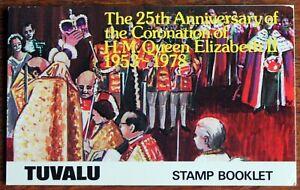 Tuvalu – 1978 – 25th Anniv of Coronation Booklet – UM (MNH) (R8)