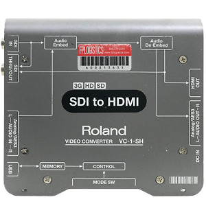 Roland SDI to HDMI Video Converter VC-1-SH Certified USED