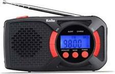 Kaito Ka360 Crank Solar Am/Fm Noaa Weather Digital Radio w/Cell Phone Charger!