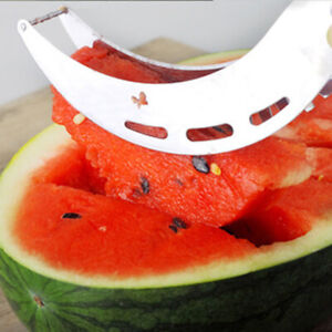 Stainless Steel Watermelon Slicer Corer Fruit Peeler Melon Cutter Kitchen Tool