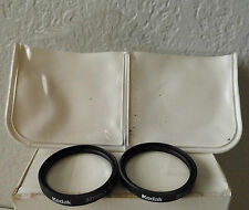 Kodak Close-Up Lenses Set 37mm +7 & +10 Lenses Cat 138 2175 made in USA
