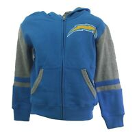 Los Angeles Chargers Official NFL Children Youth Kids Size Full Zip Sweatshirt