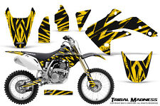 HONDA CRF 150 R CRF150R 07-15 CREATORX GRAPHICS KIT DECALS TRIBAL MADNESS Y