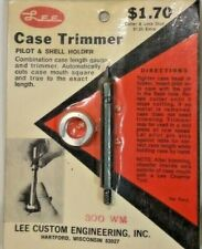 NOS Lee Case Trimmer Pilot & Shell Holder 300 WM