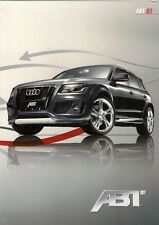 Audi Q5 ABT Tuning Accessories 2009 UK Market Foldout Sales Brochure