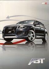 Audi Q5 ABT Tuning Accessories 2009 UK Market Foldout Sales Brochure