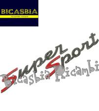 672062 - ORIGINALE PIAGGIO TARGHETTA SUPER SPORT VESPA GTS 300 2010 - 2015