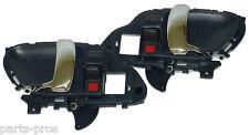 New Inside Door Handle PAIR BLUE & CHROME / FOR 1995-98 CHEVROLET & GMC TRUCK