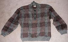 Designer men's pullover sweater circa 1990s Zonda Nellis Vancouver Canada