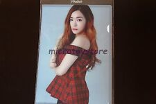 Girls' Generation 4th Tour Phantasia Official MD Tiffany Plastic File Kpop SNSD