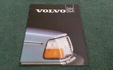 1982 VOLVO 240 244 264 SALOON DL GL GLE GLT - UK BROCHURE
