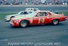 1975 DAYTONA 500 8x10 PHOTO #14 COO COO MARLIN CHEVROLET CHEVY RACING CAR NASCAR