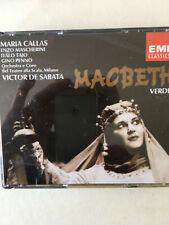 """Oper """"Macbeth""""; 1952 aus der Mailänder Scala mit Maria Callas"""