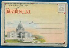 Providence Rhode Island ri 1930s souvenir postcard 00004000  folder foldout #2