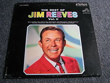 Jim Reeves-The Best of volume II lp-1966 Canada-Country - 33 giri/min-ALBUM