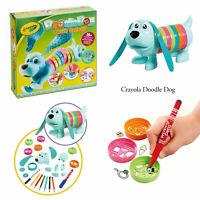 Crayola Kids Childrens Toddlers Pattern Artwork Design Creative Doodle Dog