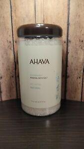 AHAVA Dead Sea 100% Natural Mineral Bath Salts Calming Relaxing Lavender 32 oz.