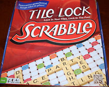 Tile Lock Scrabble Game Edition Replacement Pieces & Parts Snap 2013 Hasbro