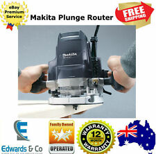 Plunge Router 1650W 12.7mm (1/2in) MT Series Chip Deflector Shaft Lock Makita