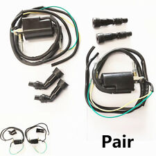 For Kawasaki KZ Suzuki GS Honda CB 650 750 900 Durable 2X Ignition Coil Set 12V
