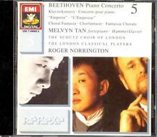 BEETHOVEN - Piano Concertos 5 / Choral Fantasia - Melvyn TAN / Roger NORRINGTON